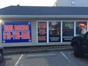Raleigh bail bond service