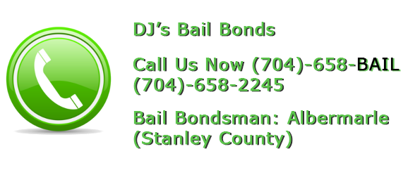 Albemarle bail bonds